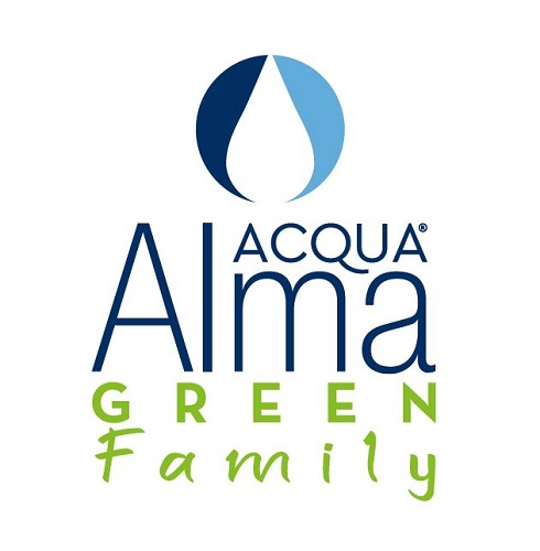 acqua alma green family logo